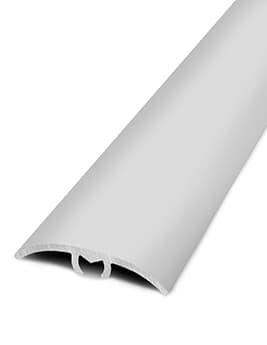 Barre de seuil HARMONY 30, décor aluminium naturel, l.3.0 x L.93 cm