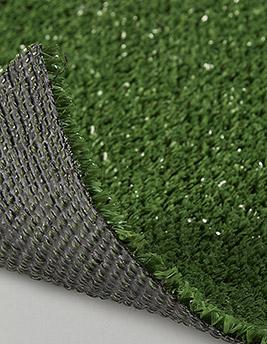 Gazon synthétique GREENFIELD, épaisseur 8 mm, rouleau larg 2 m