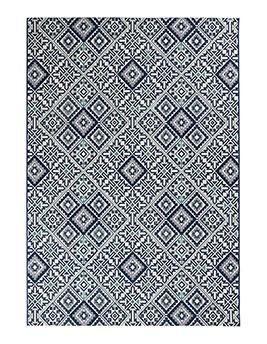 Tapis ARCHEO, motif carreaux de ciment