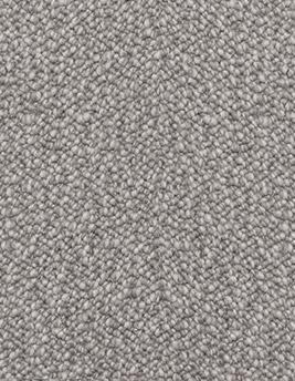 Moquette bouclée BERLIN en laine, col rock, rouleau 4 m