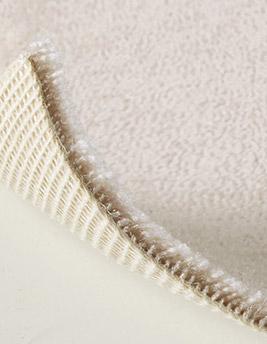 Moquette velours ANCY en laine, col beige, rouleau 5 m