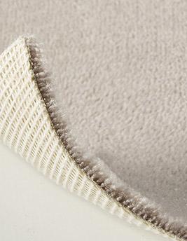 Moquette velours ANCY en laine, col beige foncé, rouleau 5 m
