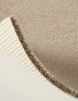 Moquette velours ANCY en laine, col sable, rouleau 5 m