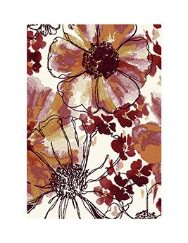 Tapis INFINITY, motif floral