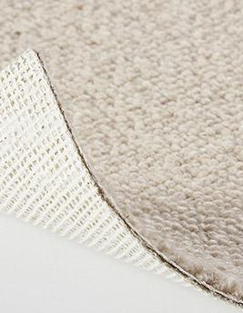 Moquette bouclée LONDON en laine, col beige clair, rouleau 5 m