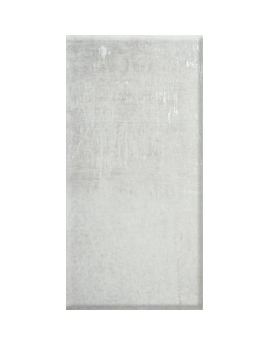 Carrelage HARLEM, aspect béton blanc, dim 30,8 x 61,5 cm