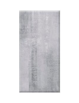 Carrelage HARLEM, aspect béton gris clair, dim 30,8 x 61,5 cm