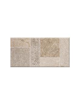 Carrelage TOZETO GRIP, aspect pierre beige, dim 30,8 x 61,5 cm