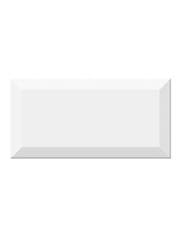 Faïence METRO, blanc, dim 10 x 20 cm