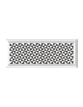 Faïence METRO XXL, noir, dim 20 x 50 cm