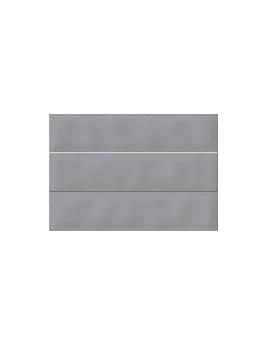 Faïence SAKURA, gris, dim 23 x 33,5 cm