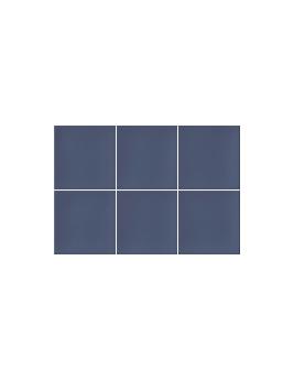 Faïence SAKURA, bleu, dim 23 x 33,5 cm