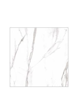 Carrelage MARBELLA, aspect marbre blanc, dim 59,3 x 59,3 cm