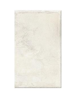 Carrelage NATURE GRIP, aspect pierre blanc, dim 30 x 50 cm