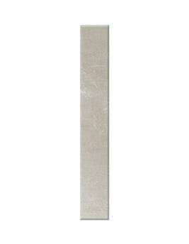 Plinthe TEMPO, aspect Pierre Beige, dim 9,4 x 60 cm