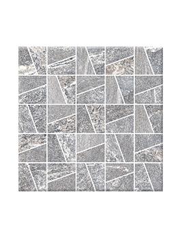 Carrelage PIERRE, aspect pierre gris clair, dim 30 x 30 cm