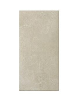 Carrelage AVENUE, aspect béton beige, dim 30 x 60 cm