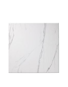 Carrelage ARTDECO, aspect marbre blanc, dim 59,3 x 59,3 cm