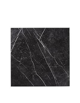 Carrelage ARTDECO, aspect marbre noir, dim 59,3 x 59,3 cm