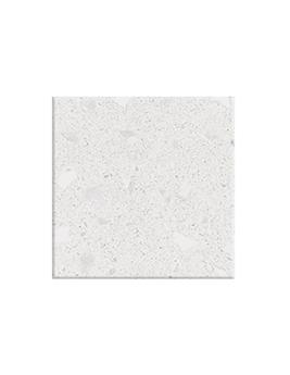 Carrelage TERRA XXL, aspect pierre blanc, dim 80 x 80 cm