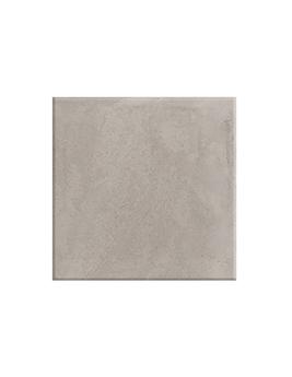 Carrelage BETON CIRE, aspect béton gris clair, dim 75 x 75 cm
