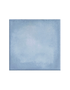 Carrelage ROME, aspect béton bleu, dim 20 x 20 cm