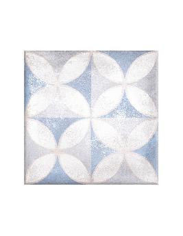 Carrelage ROME DECOR, aspect carreau ciment multicolore, dim 20 x 20 cm