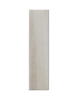 Carrelage TENDANCE G, aspect bois beige, dim 15 x 60 cm