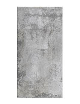 Carrelage LOFT, aspect métallisé gris clair, dim 30 x 60 cm