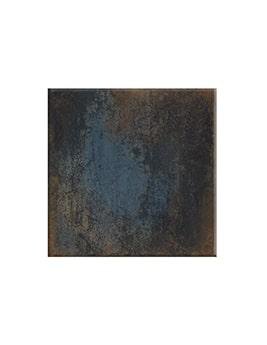 Carrelage LOFT, aspect métallisé noir, dim 60 x 60 cm