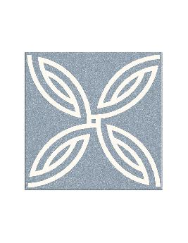 Carrelage MALAGA, aspect carreau ciment multicolore, dim 20 x 20 cm