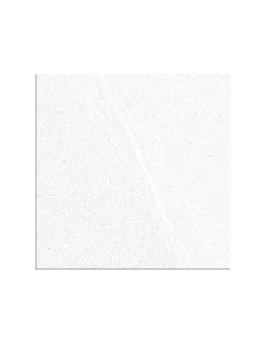 Carrelage LOIRE DECOR, aspect pierre blanc, dim 15 x 15 cm