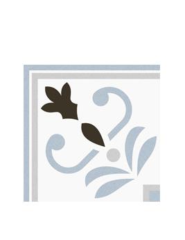 Carrelage C.A.CIMENT, aspect carreau ciment décor, dim 20 x 20 cm
