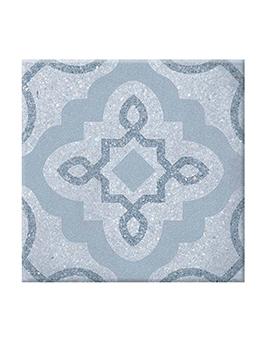 Carrelage NACO, aspect carreau ciment colorés, dim 20 x 20 cm