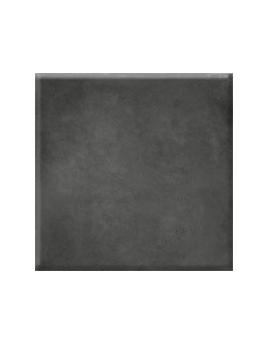 Carrelage CUIR XXL, aspect béton gris foncé, dim 80 x 80 cm