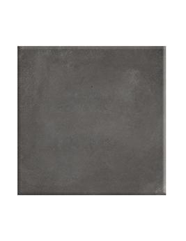Carrelage ESSENTIAL, aspect béton gris foncé, dim 60 x 60 cm