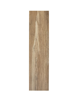 Carrelage DAKOTA, aspect bois marron, dim 20 x 80 cm