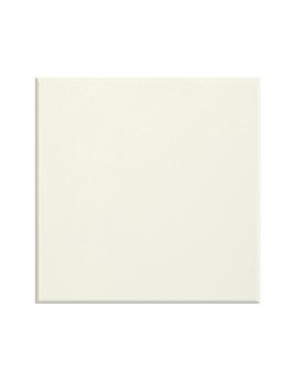 Carrelage CATALONA BLANC, aspect unis-Couleurs blanc, dim 20 x 20 cm
