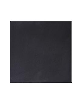 Carrelage CATALONA NOIR, aspect unis-Couleurs noir, dim 20 x 20 cm