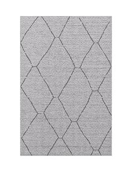 Tapis outdoor SENZA, motif géométrique