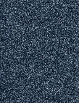Moquette Saxony PUNCH, col Bleu marine, Rouleau 4 m