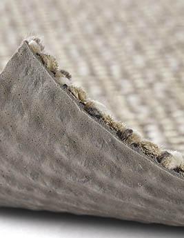 Moquette blouclée KALAHARI, col gris clair, rouleau 4 m