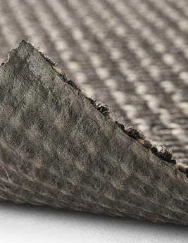 Moquette blouclée KALAHARI, col gris foncé, rouleau 4 m