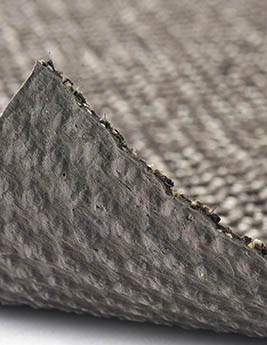 Sisal sisal KIVU, col gris foncé, rouleau 4 m
