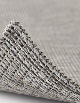 Moquette tissé plat SALIX, col taupe clair, rouleau 4 m