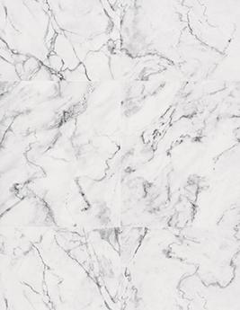 Papier peint KHLOÉ vinyle sur intissé motif marbre, blanc grisé