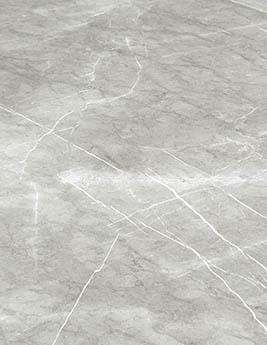Revêtement minéral composite CERAMIN TILES SJ, marbre beige, dalle 120,2 x 259 cm