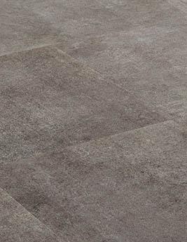 Revêtement minéral composite CERAMIN TILES SJ, béton moka, dalle 31,5 x 62,5 cm