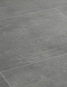 Revêtement minéral composite CERAMIN TILES SJ, béton gris loup, dalle 39,2 x 78 cm