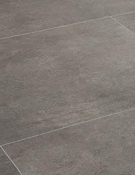 Revêtement minéral composite CERAMIN TILES SJ, béton moka, dalle 39,2 x 78 cm